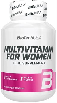 BioTech USA Multivitamin for Women (60таб) - фото 9743