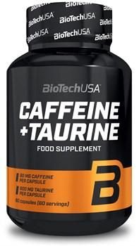 BioTech USA Caffeine + Taurine (60капс) - фото 9755