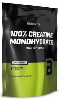 BioTech USA 100% Creatine Monohydrate (500гр) пакет - фото 9759