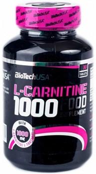BioTech USA L-Carnitine 1000 (30таб) - фото 9771