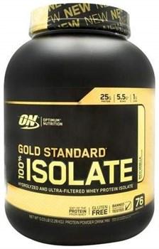 Optimum Nutrition Gold Standard 100% Isolate (2300 гр) - фото 9857