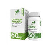 Natural Supp Chromium Picolinate 200mcg (60капс)