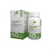 Natural Supp Glucosamine+Chondroitin+MSM (60капс)