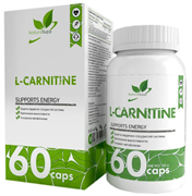 Natural Supp L-Carnitine Tartrat 750mg (60капс)