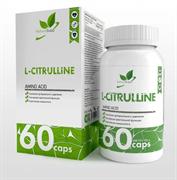 Natural Supp L-Citrulline 750mg (60капс)