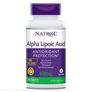 Natrol - Alpha Lipoic Acid 600mg (30капс)