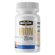 Maxler Iron 25 mg Bisglycinate Chelate (90вег.капс)
