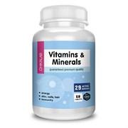 ChikaLab - Vitamins & Minerals (60таб)