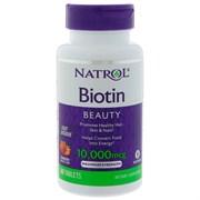 Natrol - Biotin 10.000 mcg Fast Dissolve (60капс)