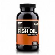 Optimum Nutrition Fish Oil Softgels (200капс) (Срок годности 12.2020)