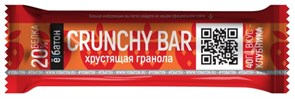 ё|батон Батончик глазированный CRUNCHY BAR (40гр)