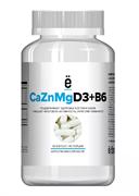 ё|батон Calcium Zinc Magnesium+D3+B6 (90капс)