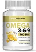 aTech Nutrition Omega 3-6-9 700mg (90гел.капс)
