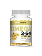 aTech Nutrition Omega 3-6-9 (60гел.капс)