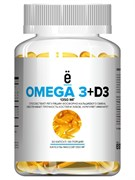 ё батон Omega 3 + Vitamin D3 (60капс)