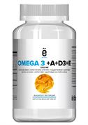 ё|батон Omega 3 + Vitamin A+D3+E (90капс)