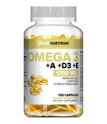 aTech Nutrition Omega 3 +А+D3+Е (120гел.капс)