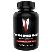 RAVNUTRITION Yohimbine Hcl 5 mg (100таб)