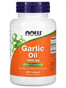 NOW - Garlic Oil 1500mg (250гел.капс)