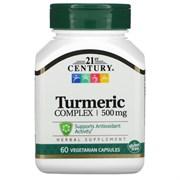 21st Century Turmeric Complex 500mg (60вег.капс)