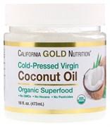 California Gold Nutrition Organic Virgin Coconut Oil (473мл)