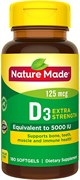 Nature Made Vitamin D3 1000 МЕ (100гел.капс)