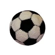 ЯнеЖ Вязаная игрушка «Футбольный мячик»