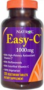 Natrol - Easy-C 1000 mg (120таб)