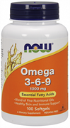 NOW - Omega 3-6-9 1000 mg (100гел.капс)