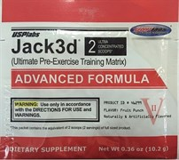 Usplabs Jack3d Advanced Formula (1 порция) пробник