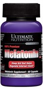 Ultimate Nutrition 100% Premium Melatonin (60капс)