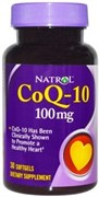 Natrol - CoQ-10 100 mg (30гел.капс)