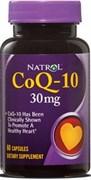 Natrol - CoQ-10 30 mg (60гел.капс)