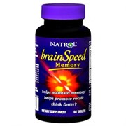 Natrol - BrainSpeed Memory (60таб)
