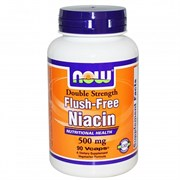 NOW - Flush Free Niacin 500 mg (90капс)