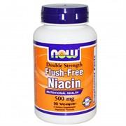 NOW - Flush Free Niacin 500 mg (90капс)