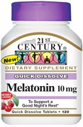 21st Century Melatonin 10mg (120таб)