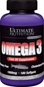 Ultimate Nutrition Omega 3 (180капс)