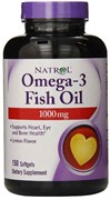 Natrol - Omega 3 Fish Oil 1000mg (150капс)
