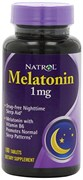 Natrol - Melatonin 1mg (180таб)