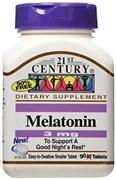 21st Century Melatonin 3mg (90таб)