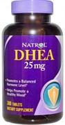 Natrol - DHEA 25 mg (300таб)