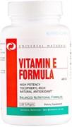 Universal Nutrition Vitamin E Formula (100капс)