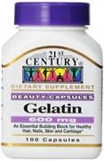 21st Century Gelatin 600mg (100капс)