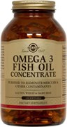 Solgar Omega 3 Fish Oil Concentrate (120капс)