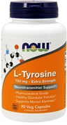 NOW L-Tyrosine 750mg (90капс)