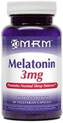 MRM - Melatonin 3mg (60капс)