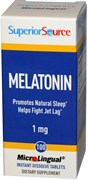 Superior Source Melatonin 1mg MicroLingual (100таб)