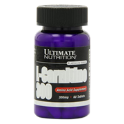 Ultimate Nutrition L-Carnitine 300mg (60таб)