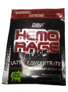 Nutrex Hemo Rage Black Ultra Concentrate (1 порция) пробник